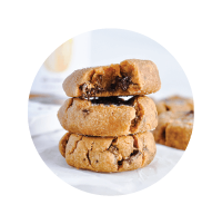 Icon thumbnail of Justin's peanut butter cookies in a white background