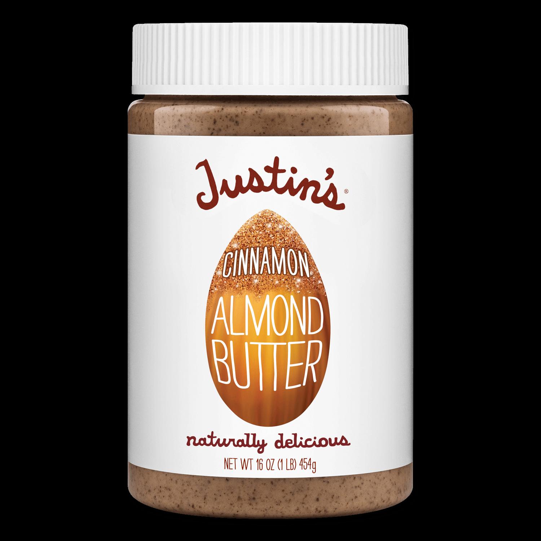 Justin's Cinnamon Almond Butter Spread jar 16 oz.