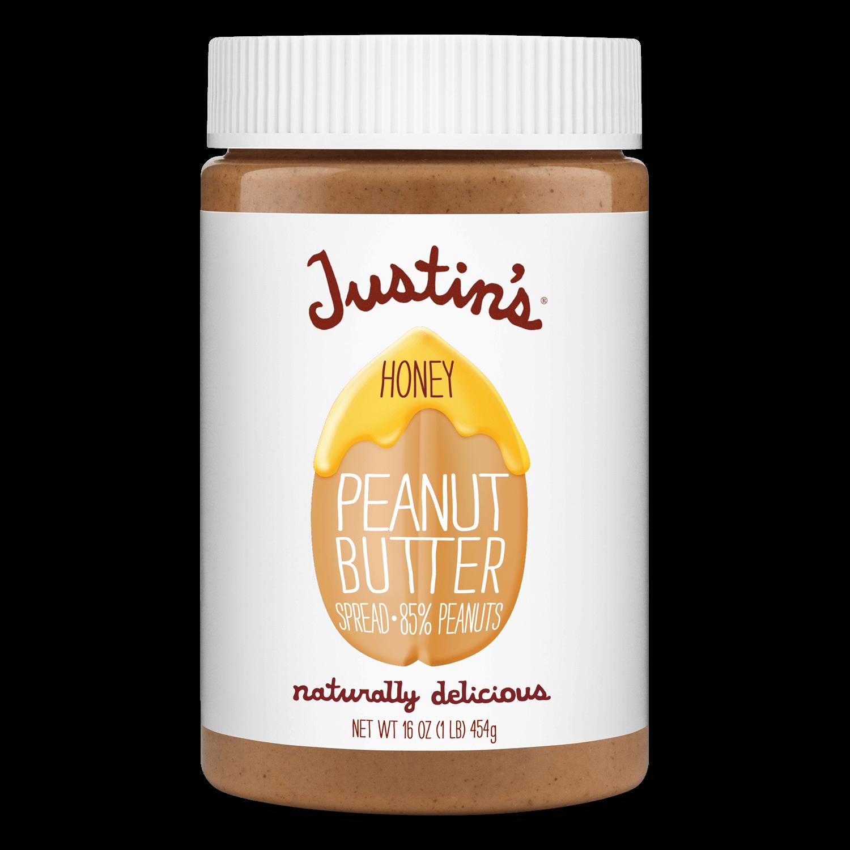 Justin's Honey Peanut Butter Spread jar 16 oz.