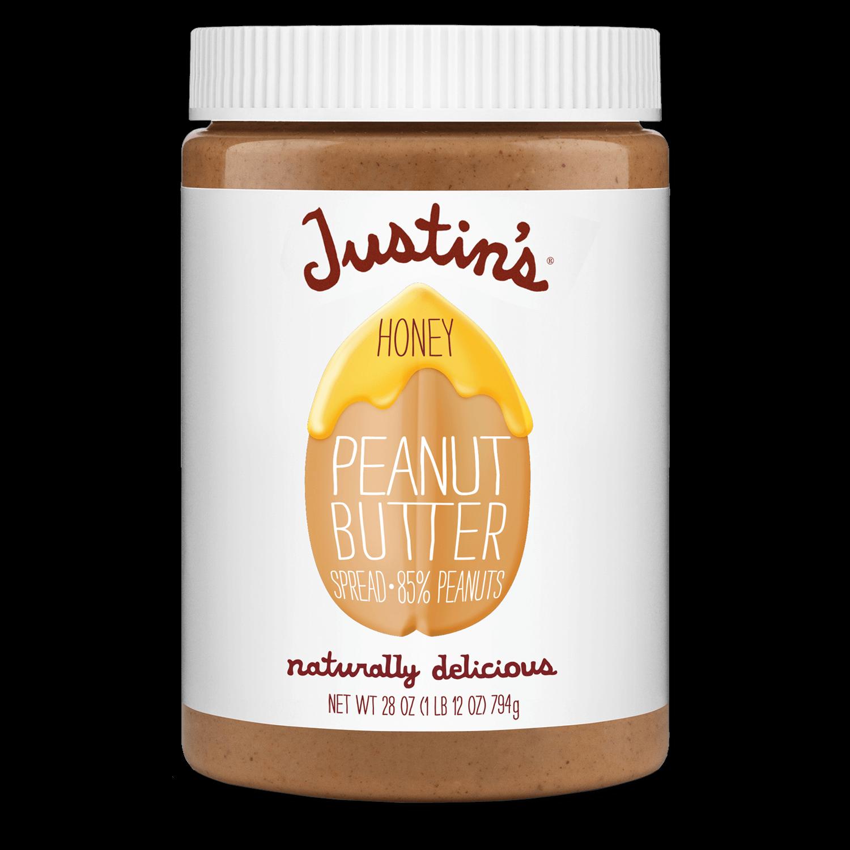 Justin's Honey Peanut Butter Spread jar 28 oz.