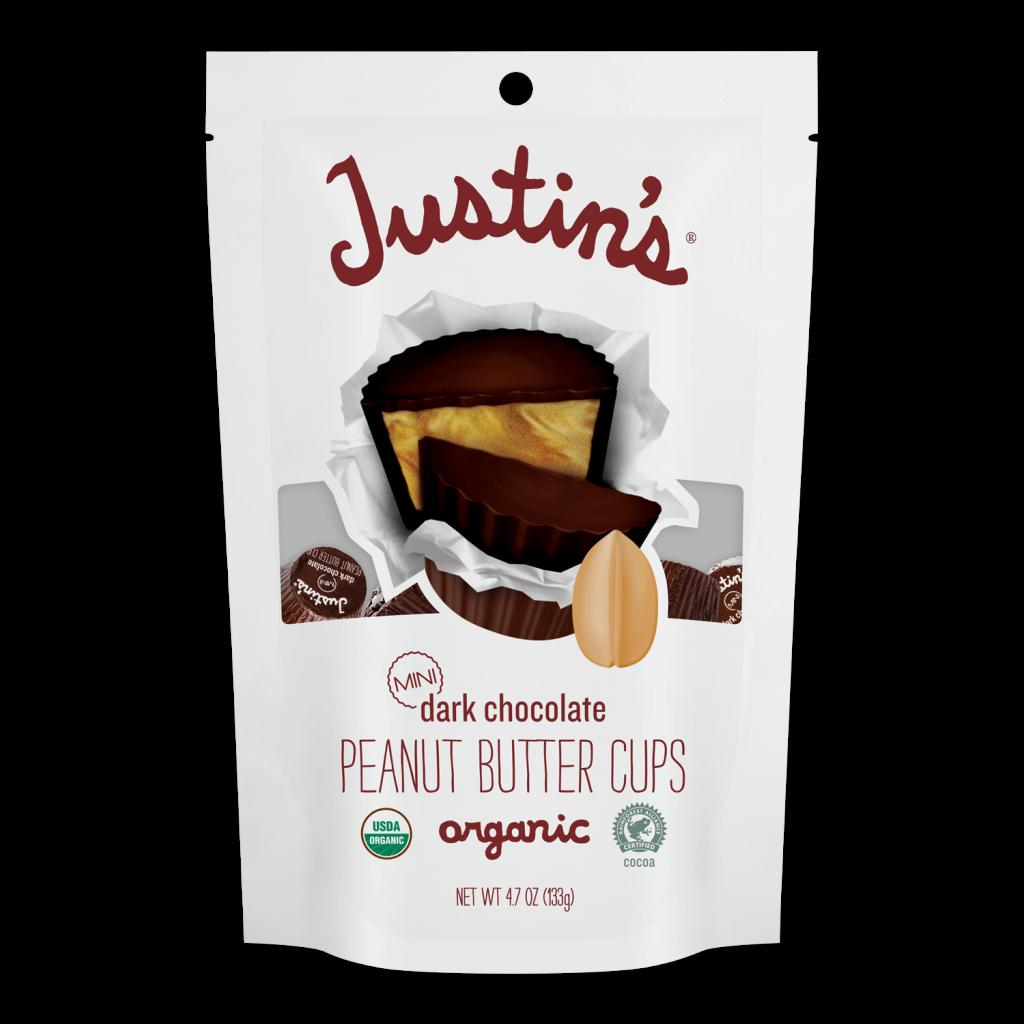 Justin's Mini Dark Chocolate Peanut Butter Cups pack 4.7 oz.