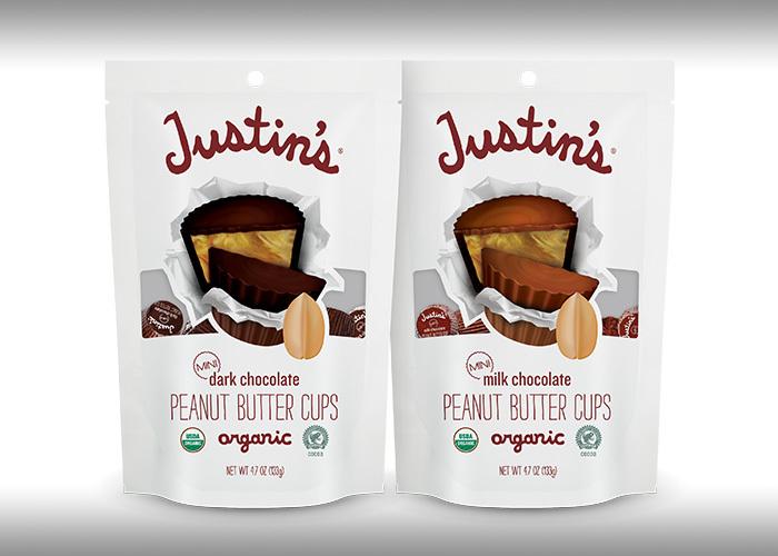 Justin's Milk Chocolate PB Cups & Justin's Dark Chocolate PB Cups